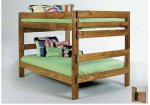 Simply Bunk Beds Full/Full Bunk Bed 707